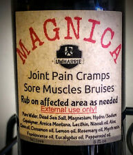 2 Jars of MAGNICA Magnesium & Arnica Montana Pain & cramp relief w/Thieves Oil
