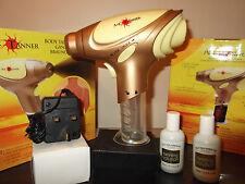 Pro Air Tan home tanning airbrush gun kit. spray & glow sun bake & refill lotion