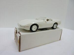 ERTL 1991 Corvette Convertible Cascade White Dealer Promo Car with Box 6044EP