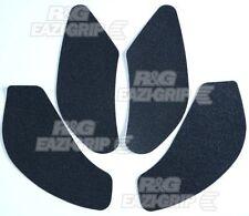 R&G Racing Eazi-Grip Traction Pads Black to fit Kawasaki ZX6R 636 2013-2014