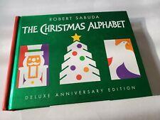 The Christmas Alphabet By Robert Sabuda Deluxe Anniversary Edition Pop Up...