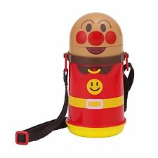 Anpanman Water Bottle with Straw 400ml New Japan