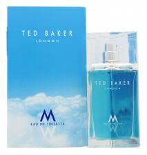 TED BAKER M EAU DE TOILETTE 75ML SPRAY - MEN'S FOR HIM. NEW. FREE SHIPPING