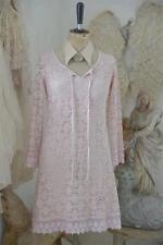 Jeanne d´Arc Living Kleid Tunika Bluse Powder Rose Shabby Chic Vintage Kleidung