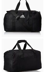 NWT Adidas Sun Life Golf Weekender Travel Duffle Shoe Gym Carry Bag Black Medium