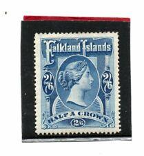 Falklands Islands Vic. 1898 2s.6d. deep blue sg 41 HH.Mint