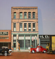 #112 HO scale background building flat   BENDERS   *FREE SHIPPING*