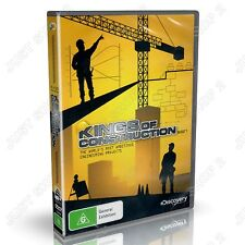 Kings Of Construction : Worlds Most Ambitious Engineering : New 2 DVD Set