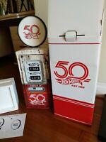 **EMPTY BOX NO CARS ** Hot Wheels 2018 Super Treasure Hunt Box 50th Anniversary