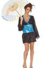 Muñeca Japonesa Disfraz 2pc. 16 18 20 Reino Unido Disfraz Elaborado Vestido Gallina Noches