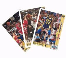 3 Card Lot 1991-92 Upper Deck MICHAEL JORDAN #32,44,69 (M)