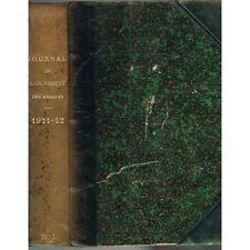 JOURNAL de l'UNIVERSITÉ des ANNALES Illustré Morale Art et Musique 1911 - 1912