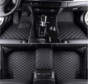 Car Mats Floor For INFINITI G37 G35 Sedan Front Rear Liner Auto Mat Carpets