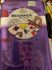 QUILLING BEGINNER KIT-Quilled-w/ Slotted Tool &Tweezer-Paper Crafting/Cardmaking