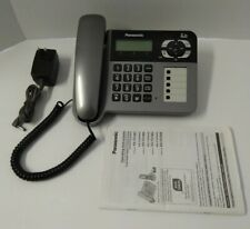 Panasonic Kx-Tg1061 Dect 6.0 Corded Main Base / Answering Machine w Manual