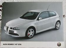 Alfa Romeo 147 GTA tarjeta con fotografía