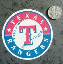 Texas Rangers logo MLB matte sticker