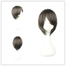"Cosplay Wig Party Wig Synthetic 32cm/12.6"" for Umineko no Nakukoroni-Kanon Gray"