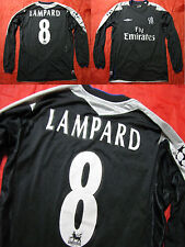 Frank LAMPARD #8 CHELSEA Champions League LONG SLEEVE shirt UMBRO 2004-05 men S