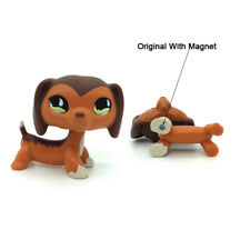 Hasbro Littlest Pet Shop LPS #675 Brown Savanah Dachshund Dog 2006 Girl toys