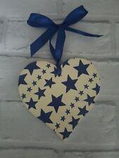 Shabby Chic Emma Bridgewater Themed Starry Skies Large Wooden Heart