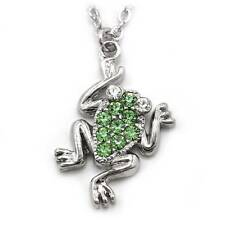 Green Frog Froggy Animal Charm Anklet Ankle Bracelet Chain Fashion Jewelry AK11