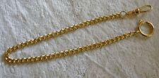 Taschenuhrenketten vergoldet,Länge ca. 31 cm,Kettenbreite/Stärke 5mm,unbenutzt