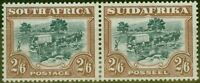 South Africa 1932 2s6d Green & Brown SG49 Fine Mtd Mint