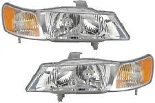 99 00 01 02 03 04 Honda Odyssey Van Left&Right Headlight Headlamp Lamp Pair L+R