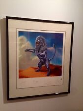 Rolling Stones Bridges to Babylon Limited Edition Lithograph 1632/5000 with COA