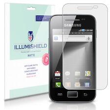 iLLumiShield Matte Screen Protector w Anti-Glare/Print 3x for Samsung Galaxy Ace