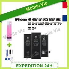 BATTERIE INTERNE NEUVE POUR IPHONE 4/4S/5/5S/5C/SE/6/6+/6S/6S+/7/7+/8/8+ STICKER