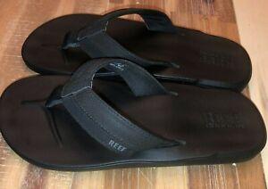 Reef Cushion Bounce g18 clc Black Size 8 Men's Flip Flop
