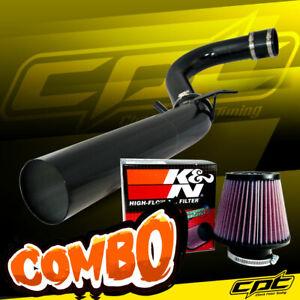 For 11-20 Chrysler 300 3.6L V6 Black Cold Air Intake + K&N Air Filter