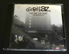 RARE GORILLAZ INTERVIEW CD - WE ARE THE DURY - DAMON ALBARN - PARLOPHONE PROMO