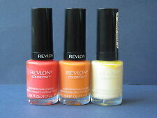 REVLON COLOR STAY NAIL POLISH - 3 Top Sellers Color Combination - NEW Value $52