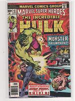 Marvel Super-Heroes #62 The Incredible Hulk 9.0