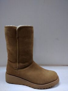 UGG WOMEN'S AMIE MID CALF BOOT  PULL UP, LIGHTWEIGHT SOLE