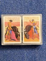 Vintage Double Deck Playing Cards.  Heraclio Fournier Vitoria-  Made In Spain