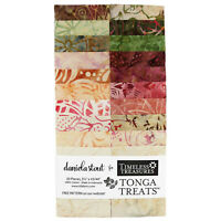 Timeless Treasures Tonga Treats Posey Strips 20 pcs