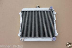 For Toyota Corolla SR5 TE27 w/4A-GTE or RB engine swap custom radiator 56mm