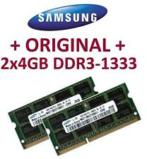 2x4GB = 8GB SAMSUNG DDR3-1333 pour imac macbook 2010 2011