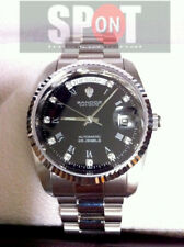Sandoz Silver Stainless Steel Automatic Watch