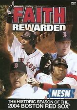 Faith Rewarded: The Historic Season of the 2004 Boston Red Sox, DVD, NEW SEALED!
