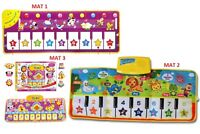 Fun Learning Mat/Funny Toy Musical Animal Keyboard Piano play/Children/toddler