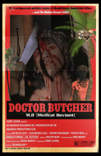 Doctor Butcher M.D. 11 x 17 Poster Horror Grindhouse Gore Italian Horror Zombies