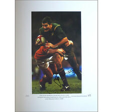 Joost van der Westhuizen signed limited edition print - A few remaining