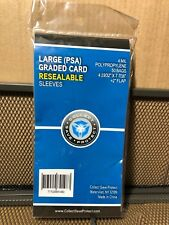Large PSA Graded Poly Bags 50 Sleeves SNUG FIT SKIN TIGHT 4MIL PSA Tall Boy 1483