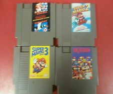 Super Mario Bros 1 2 3 Trilogy Dr Mario Nintendo Cleaned and Tested