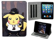 For Apple iPad Mini 1 2 3 4 5 Pokemon Go Pikachu Kids Cartoon New Case Cover